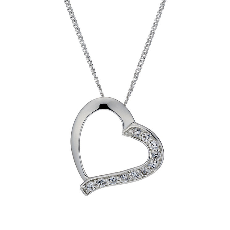 Cubic Zirconia necklace available at Luxe Jewellery