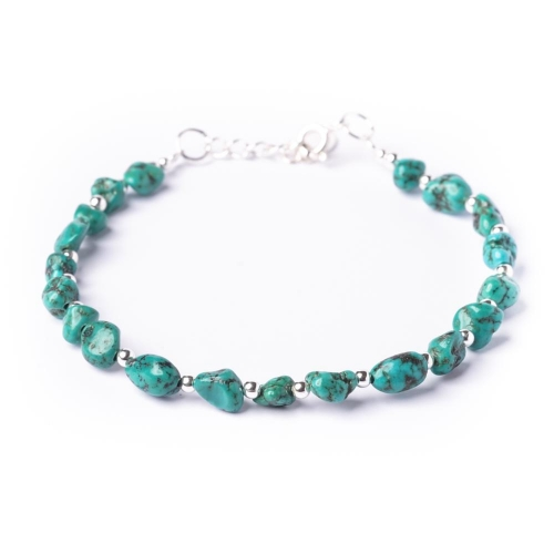 Turquoise stone bracelet available at Luxe Jewellery